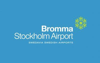 Nya rutiner på Bromma Flygplats